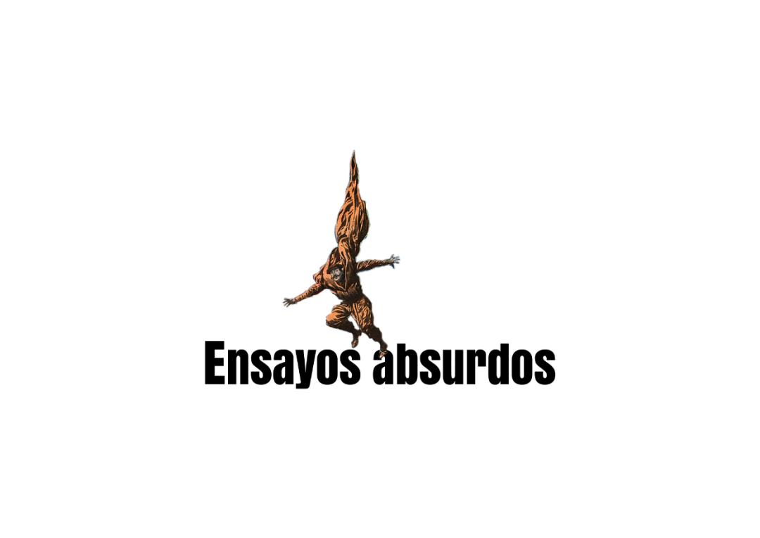 LOGOTIPO ENSAYOS ABSURDOS REALIZADO POR PEROPOR QUE MARKETING Y COMUNICACION