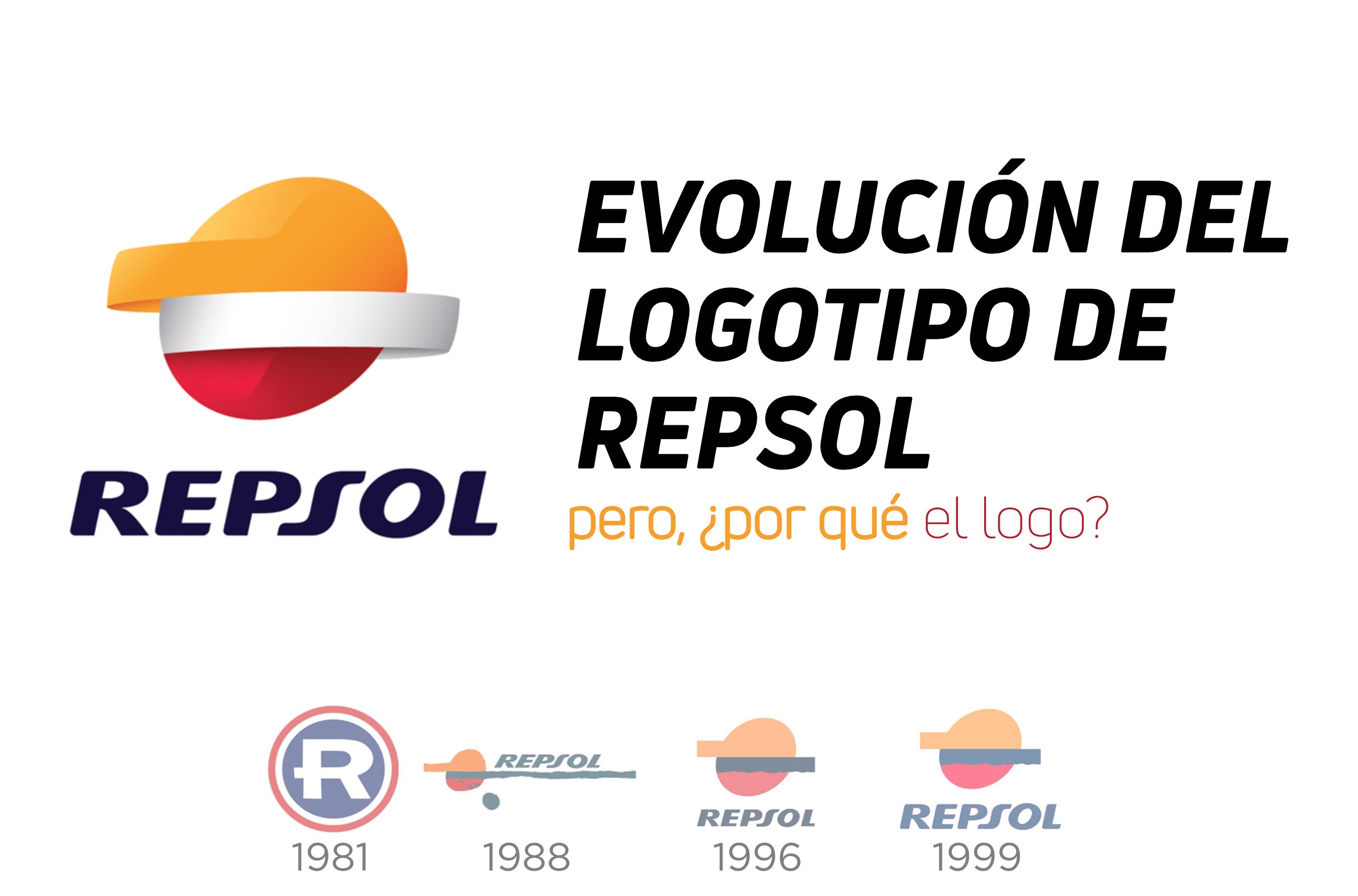 evolucion logo repsol rebranding